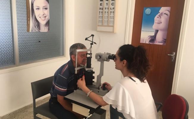 Güzelyurt Sağlık Merkezi tam zamanlı göz doktoruna kavuştu