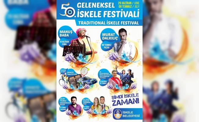İskele Festivali cuma günü başlıyor