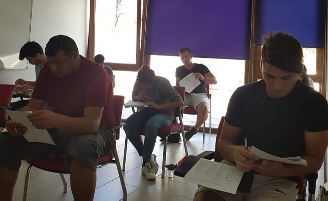 KAÜ 2. burs sıralama sınavını gerçekleştirdi.