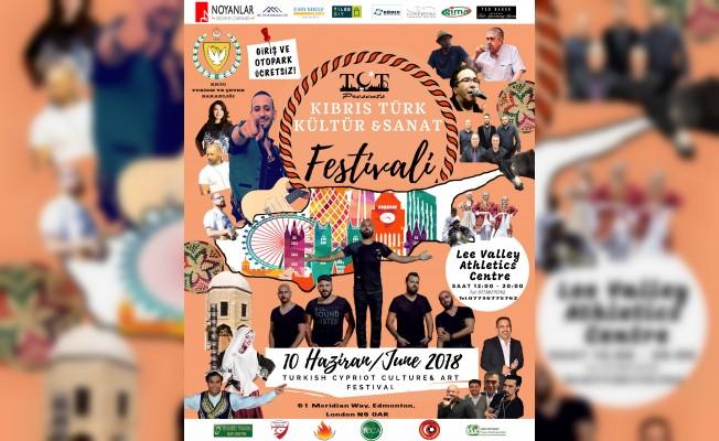 """Londra'da """"Kıbrıs Türk Kültür Sanat Festivali"""" yapılıyor"""