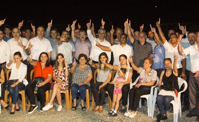 Sertoğlu, Hamitköy Örgütü'nü ziyaret etti