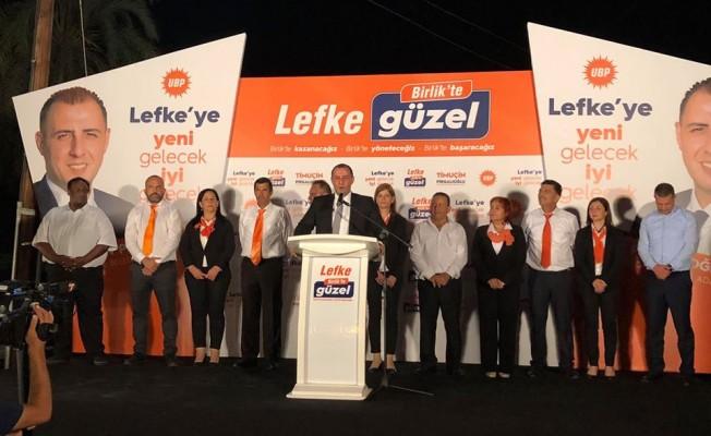 UBP Lefke'de aday tanıtımı yaptı...