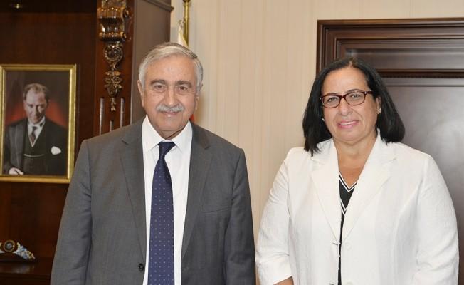 Akıncı, Londra Temsilcisi Tunalı'yı kabul etti