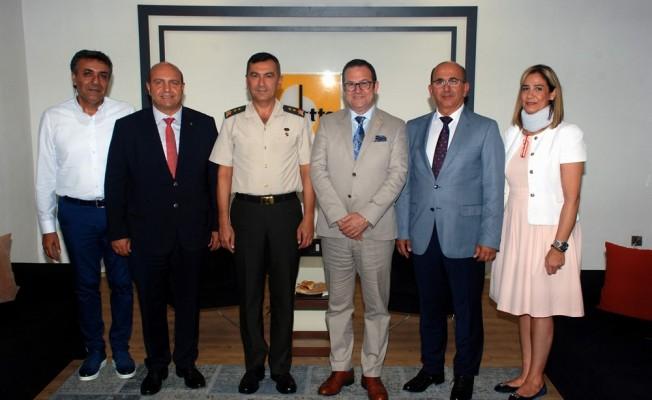 KTBK Komutanı Tümgeneral Yıldırım, KTTO'yu ziyaret etti