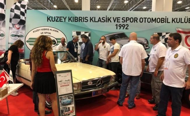 Kuzey Kıbrıs Klasik ve Spor Otomobil Kulübü İstanbul'da temsil edildi