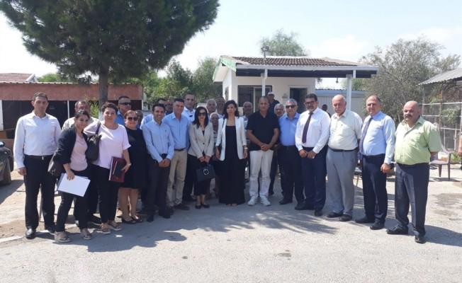 Meclis Komitesi, Salamis Kamp Tesisi'ni ziyaret etti