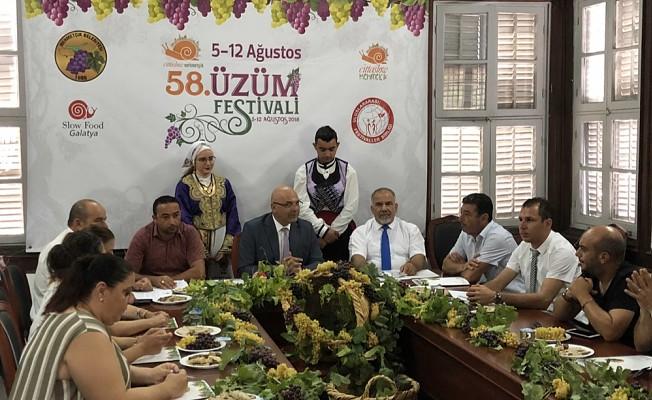 Mehmetçik Üzüm Festivali, 5-12 Ağustos'ta