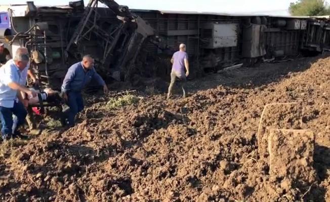 Çorlu'daki tren kazasında 24 ölü 124 yaralı!