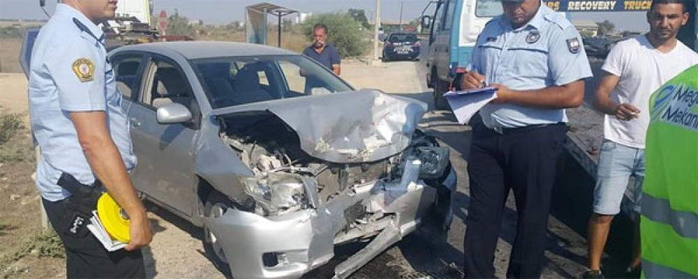 Trafik kazasında 4 yaralı!