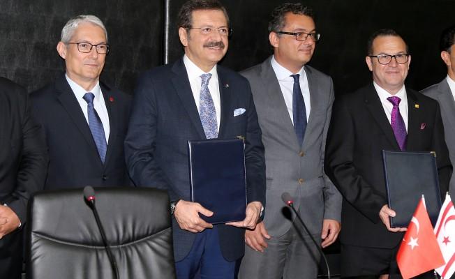 Türkiye-KKTC Ticaret Odası Forumu'nun ilk adımı atıldı