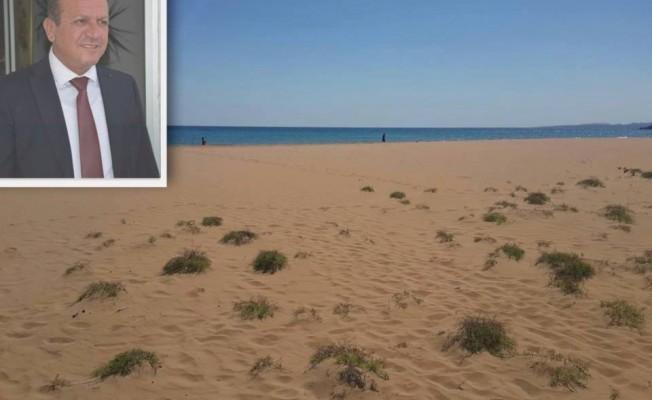 Altınkum sahili temizlendi...