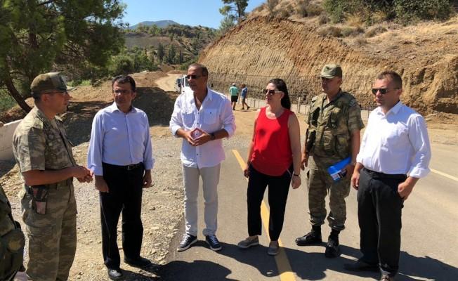 CTP Kıbrıs Çalışma Grubu üyeleri Aplıç Kapısı'nı ziyaret etti