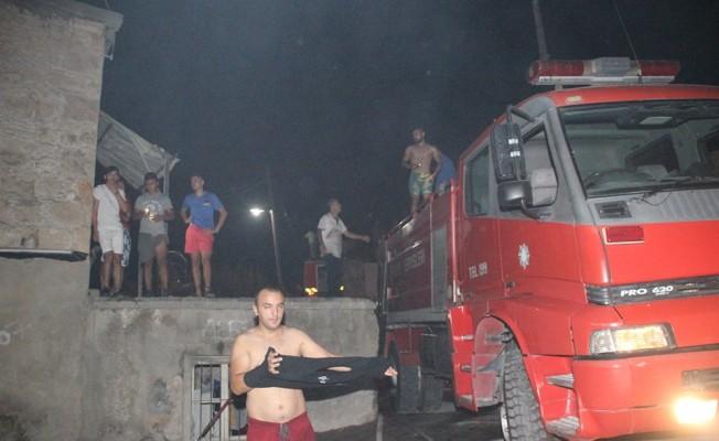 Lapta'daki yangın kontrol altında
