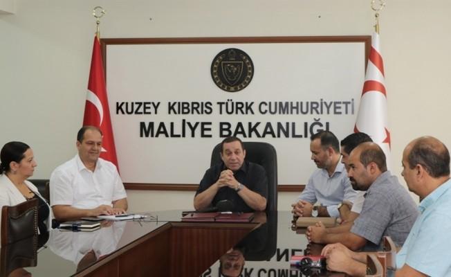 Maliye Bakanlığı ile KTAMS arasında toplu sözleşme