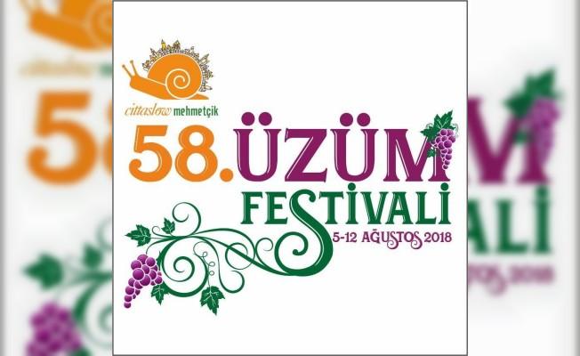 Mehmetçik Geleneksel Üzüm Festivali, yarın akşam başlıyor