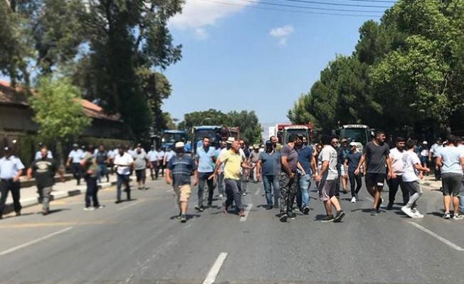 Eylemcilere biber gazı!