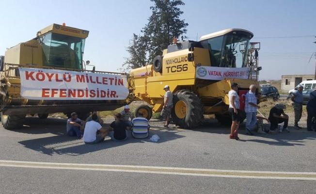 Polis iş araçlarını Lefkoşa'ya sokmuyor...