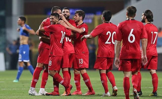 Türkiye Ümit Milli Takımı, Güney Kıbrıs'ı 4-0 mağlup etti.