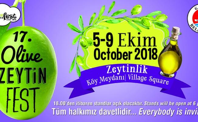 17.Girne Zeytin Festivali cuma başlıyor