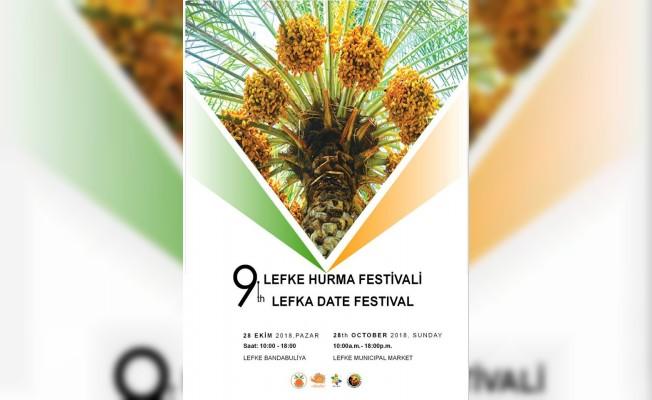 9. Lefke Hurma Festivali Pazar günü