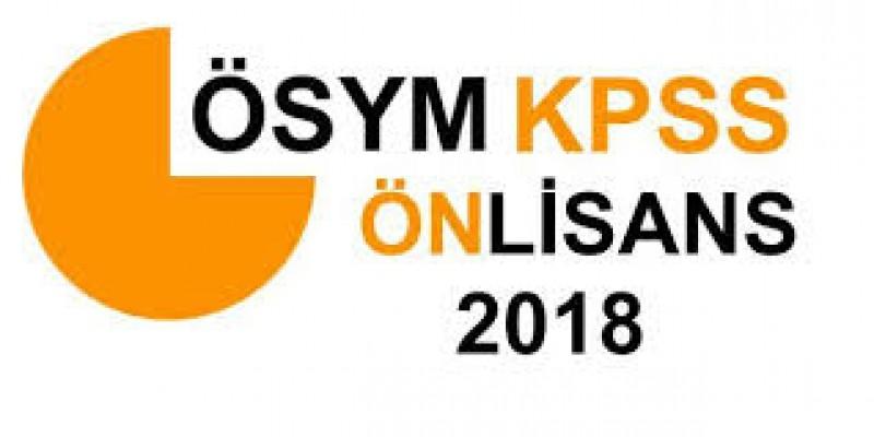 KPSS Ön Lisans Sınavı bugün...