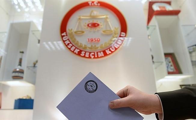 Türkiye'de seçim süreci bugün başladı