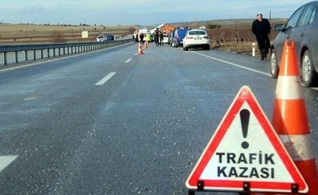1 haftada 62 trafik kazası