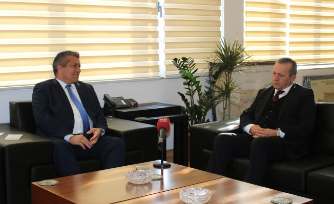 Ataoğlu ve Arter Gazimağusa'yı konuştular