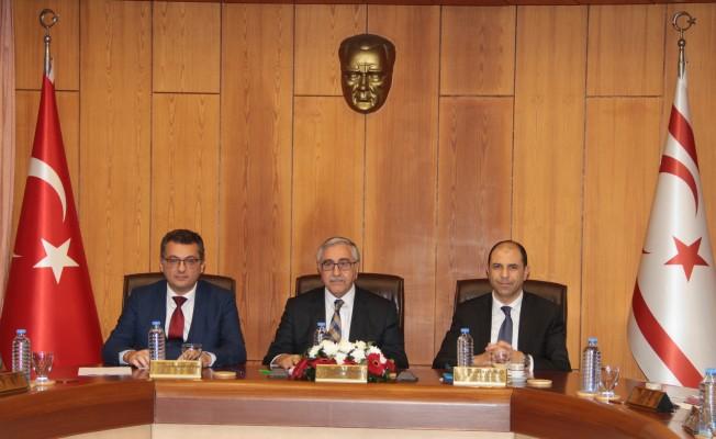 Bakanlar Kurulu Akıncı başkanlığında toplandı