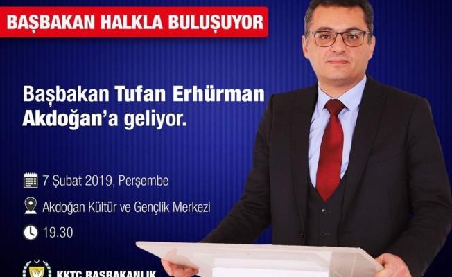Erhürman Akdoğan'da halkla buluşuyor...
