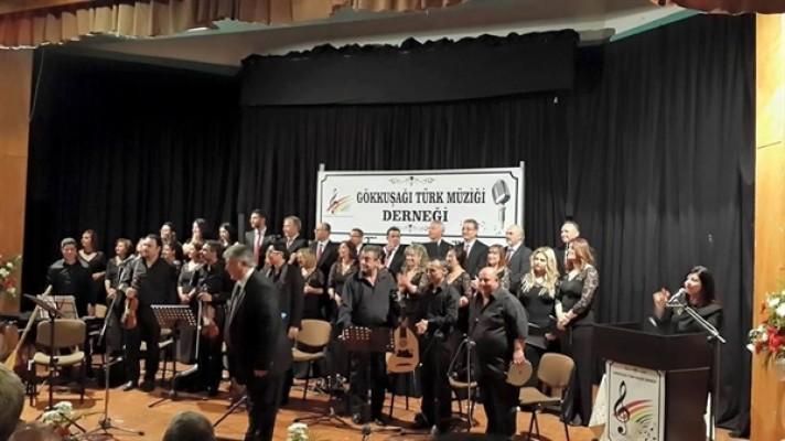 Gökkuşağı Türk Müziği Derneği'nin konseri bu akşam