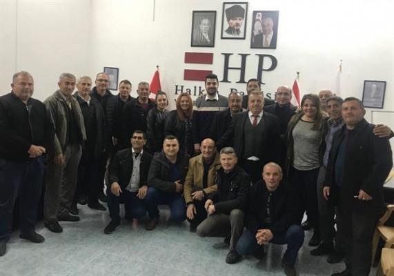HP heyeti Yenierenköy'deydi..