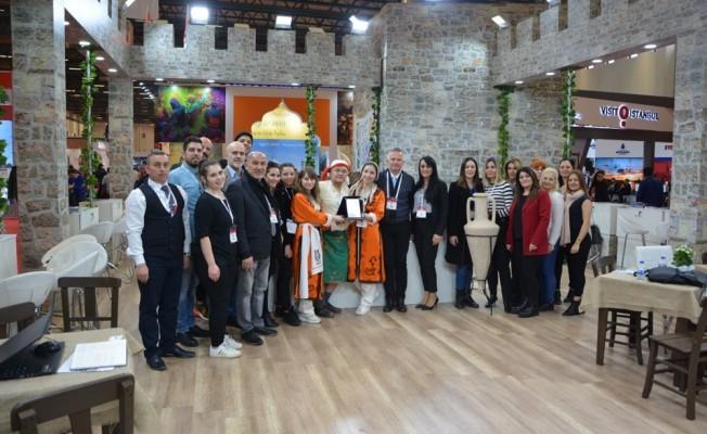 KKTC, EMİTT Turizm Fuarı'nda ödül aldı