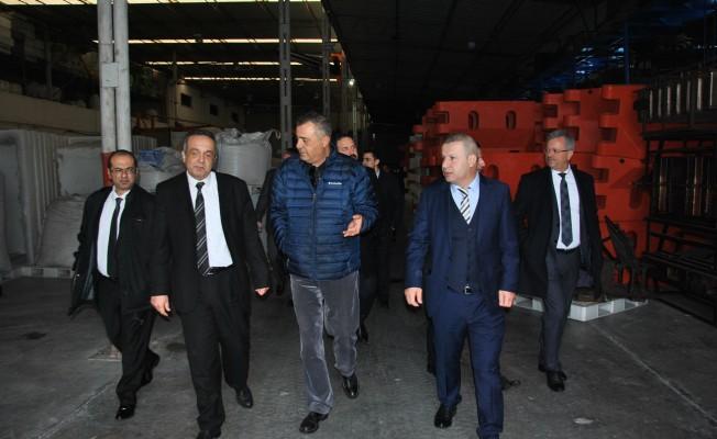 KTSO heyeti Adana, Mersin-Tarsus ve Silifke Sanayi bölgelerini inceledi