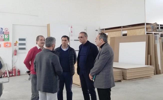 Nami ile Toros Alayköy Sanayi Sitesi'ni ziyaret etti