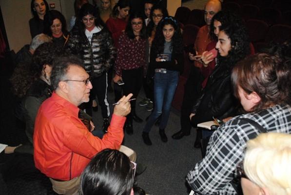 Tamer Levent Girne Belediyesi'nin konuğuydu...