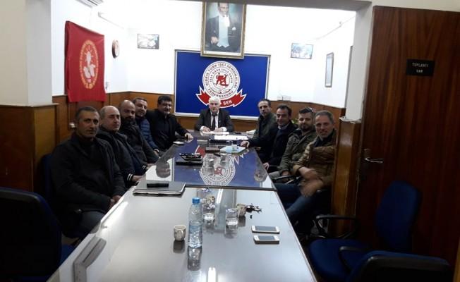 """Türk-Sen: """"KIB-TEK'e uygulanan senaryolara izin vermeyeceğiz"""""""