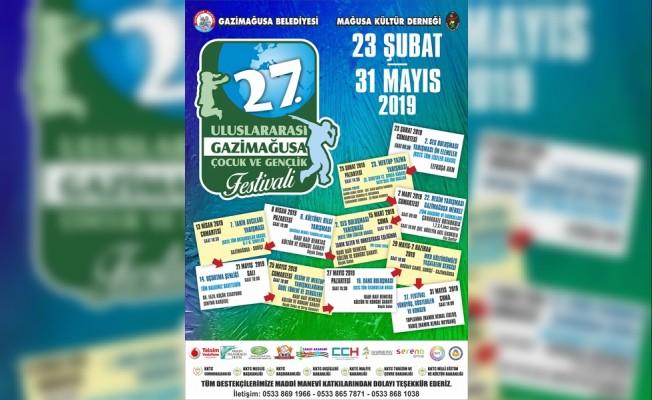 27. Gazimağusa Çocuk Festivali sürüyor