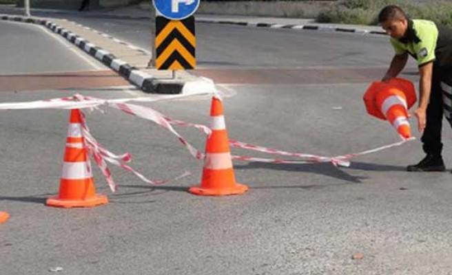 Alayköy Çemberi ile Türkeli Çemberi arasında kalan yol trafiğe kapalı