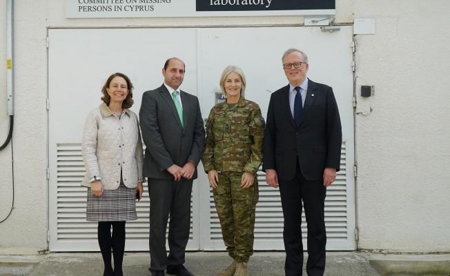 BM Komutanı Antropoloji Laboratuvarı'nı ziyaret etti