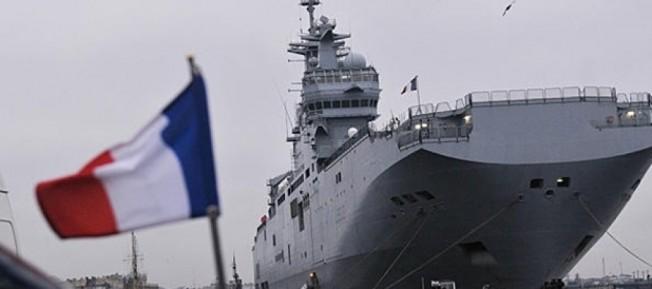 Fransa filosu Mari'ye geliyor