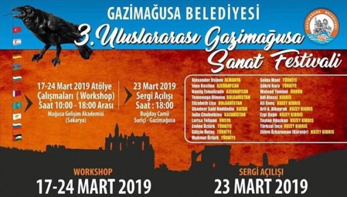 Gazimağusa Sanat Festivali, 17-24 Mart tarihlerinde