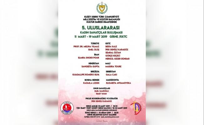 Kadın Sanatçılar Sanat Buluşması 11 Mart'ta