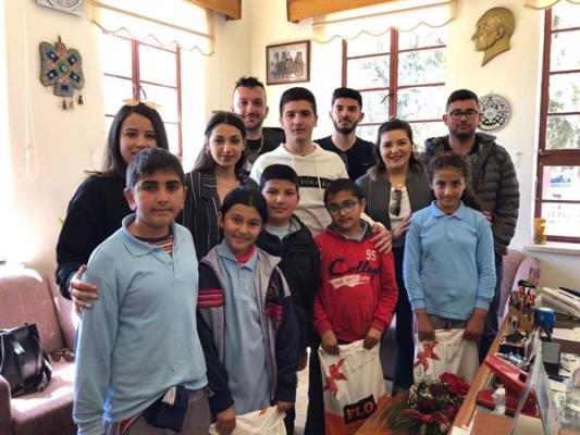 UBP Lefke Gençlik kollarından ihtiyaçlı çocuklara bağış