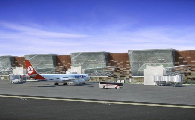 Yeni Ercan Havaalanı böyle olacak...