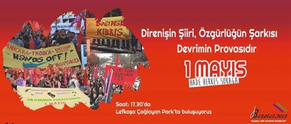 Baraka Kültür Merkezi 1 Mayıs'ta etkinlik düzenliyor