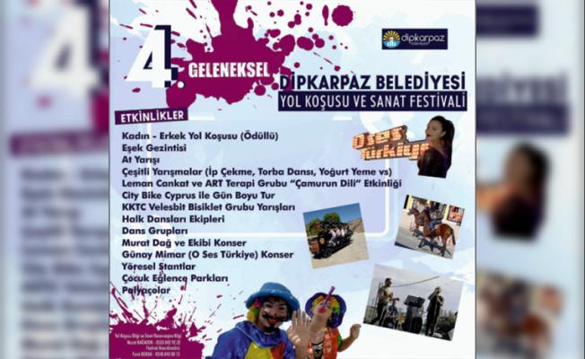 Dipkarpaz Belediyesi Yol Koşusu ve Sanat Festivali yarın
