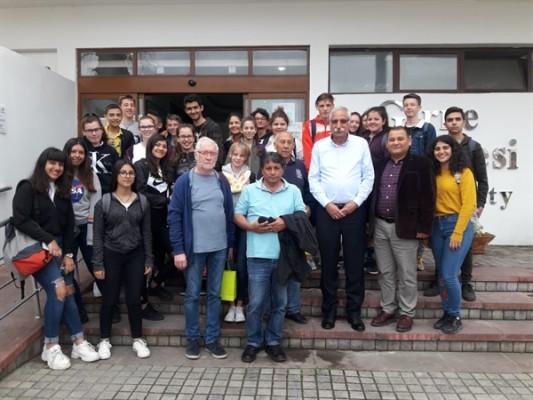 Güngördü, 19 Mayıs Türk Maarif Koleji ve Alman öğrencileri kabul etti