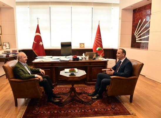 Harmancı, Kılıçdaroğlu ile görüştü...
