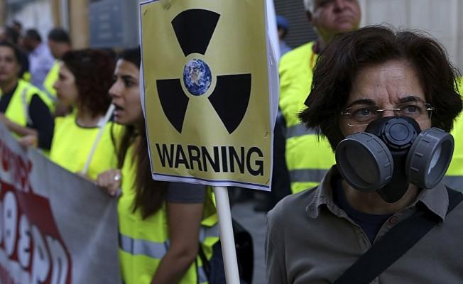 Nükleere karşı iki toplumlu protesto
